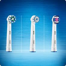 Oral-B Pro 2 2000N Crossaction Spazzolino Elettrico Ricaricabile, Manico Blu, 1 Testina di Ricambio