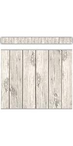 white wood straight border trim