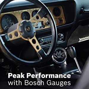 Bosch Gauges Muscle Car Hot Rod Truck Late Model Style Line Sport ST Sport II III Retro Custom