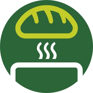 Bun warming rack to warm buns and croissants