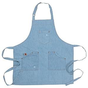 denim apron, ayesha apron, hostess apron, kids apron, chef apron