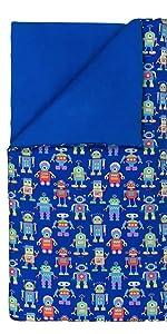 wildkin robots sleeping bag