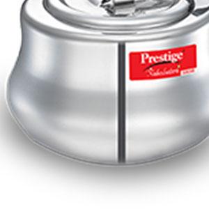 Prestige Nakshatra Plus Svachh Aluminium 2 litre Inner lid Pressure Handi SPN-FOR1