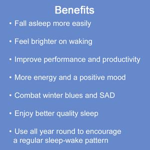 benefits wake up light sunrise dawn simulation