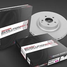 powerstop, evlution coated rotors, brake rotor, brakes, rear rotor, powerstop