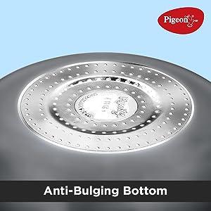 Bulging bottom