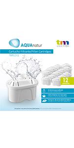 TM Electron TMFIL012 Filtres à eau, Plastic, Blanc