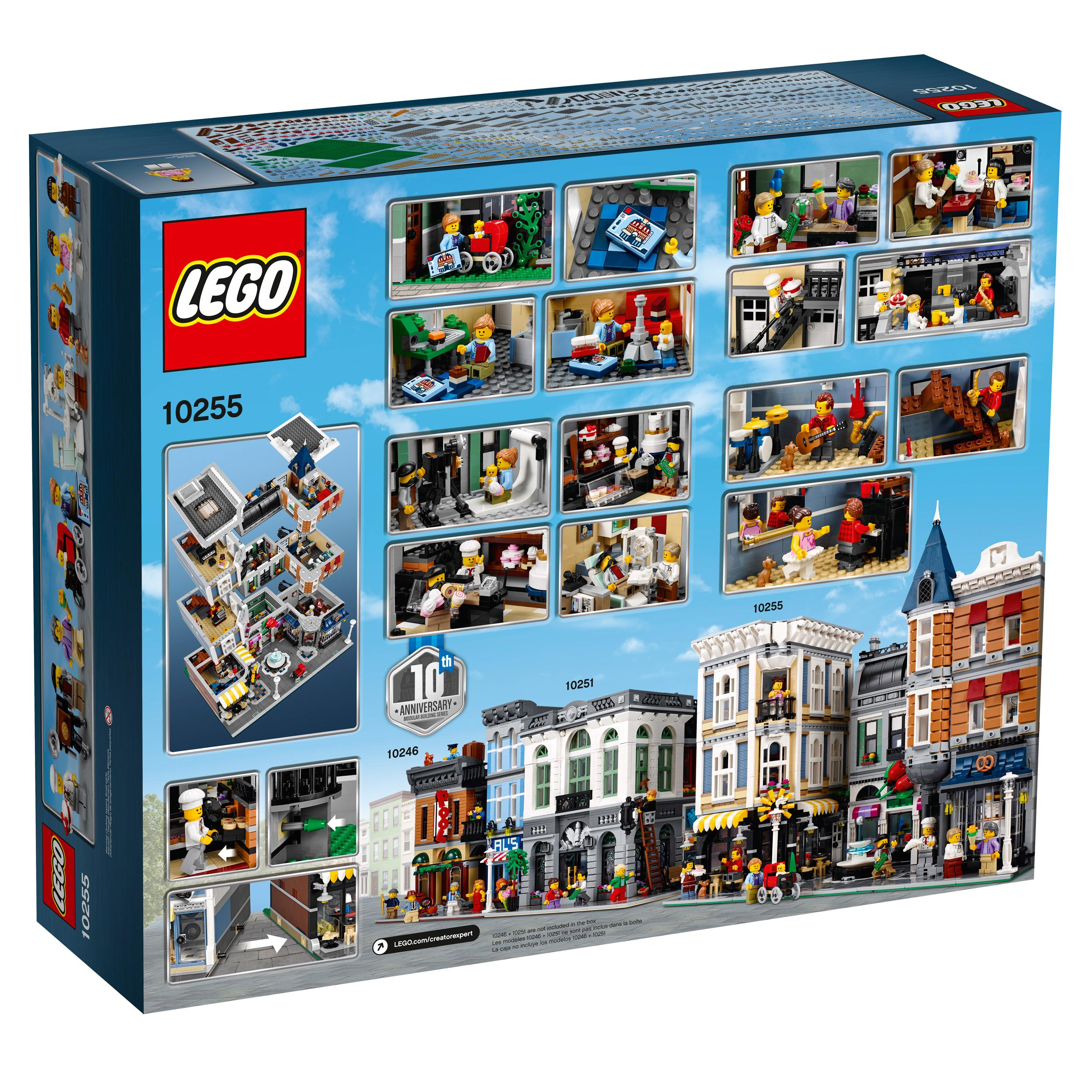 lego creator expert assembly square 10255. Black Bedroom Furniture Sets. Home Design Ideas