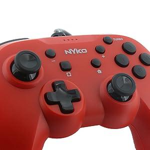 precision buttons, controller, fortnite controller, esports controller, red, nintendo, affordable