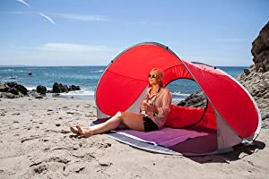 cheap for discount c9a0c e7eb7 ONIVA - a Picnic Time brand Manta Portable Pop-up Sun/Wind Shelter