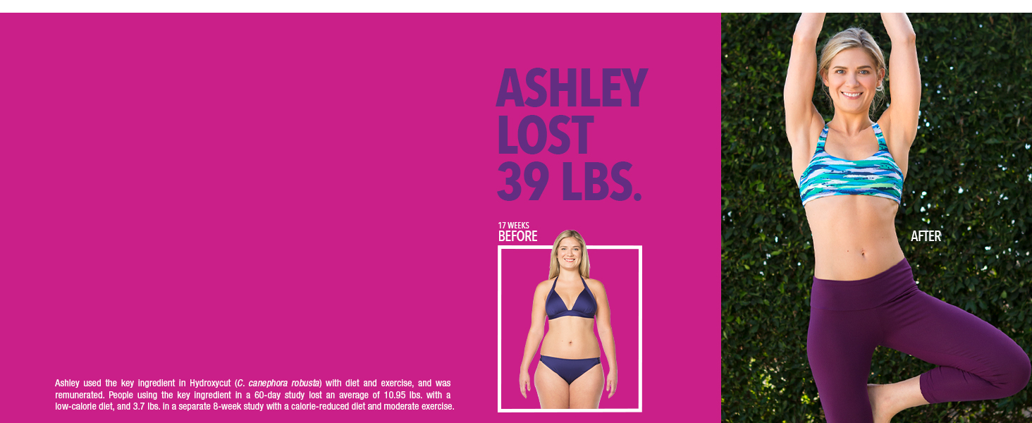Tiffany lost 31 lbs with Hydroxycut