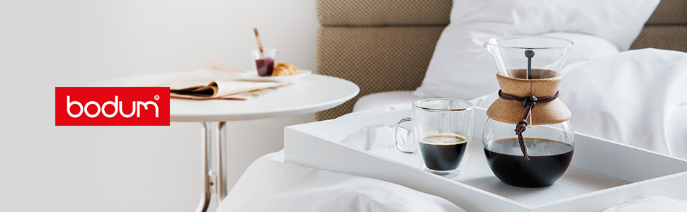 Bodum Coffee Vacuum Travel mug Chambord Cafetiere French press Tea Barista Milk Barosilicate glass