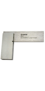 Groz 2-inch Machinist Steel Square | 16 Micron Squareness
