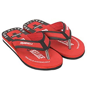 doctor sole footwear women slipper flip flops red colour orthopedic women slippers women