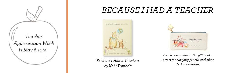 because I had a teacher, appreciation, kobi yamada, compendium