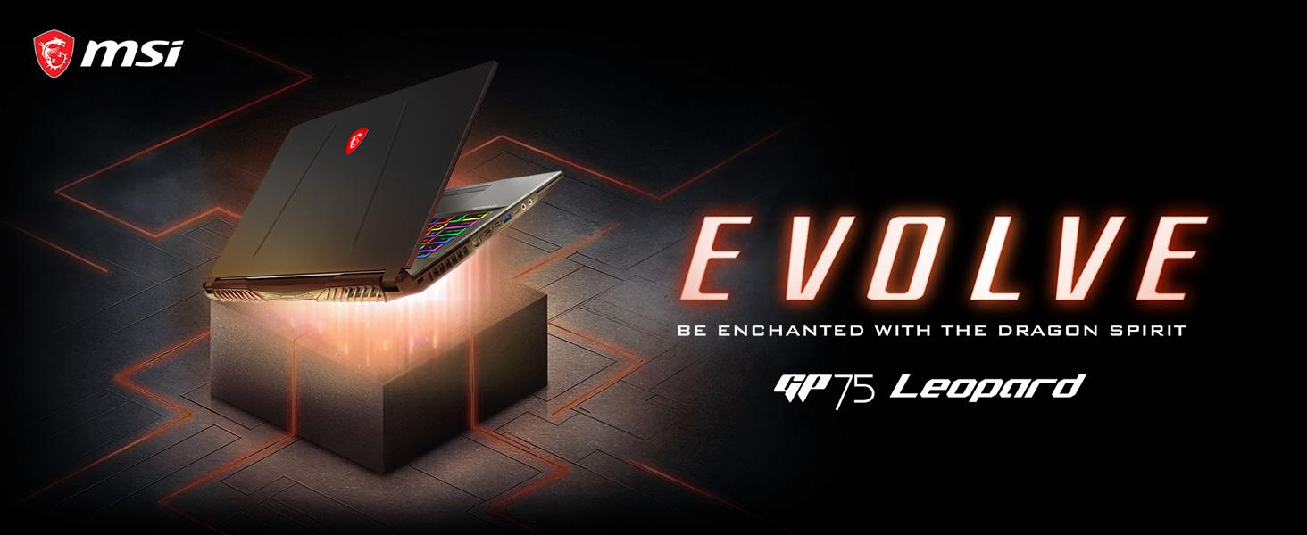 msi gp75 leopard laptop