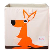 kangaroo zoo storage kids cute box cube theme animals