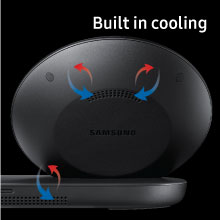 Built in cooling