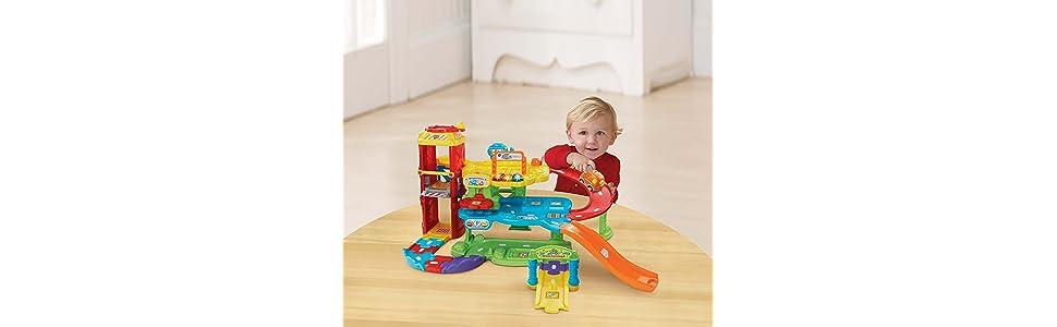 vtech baby 80 180004 tut tut flitzer parkgarage. Black Bedroom Furniture Sets. Home Design Ideas