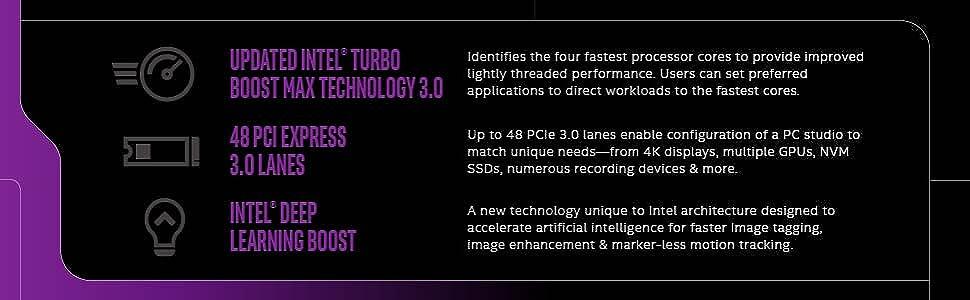 Intel Core i9-10900X X-Series Desktop Processor