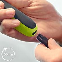 Philips QP2630/30 OneBlade Cara + Cuerpo - Recortador de Barba ...