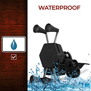 mobile holder bike motorcycle stand mount cradle phone handset charger waterproof smartphone Royal