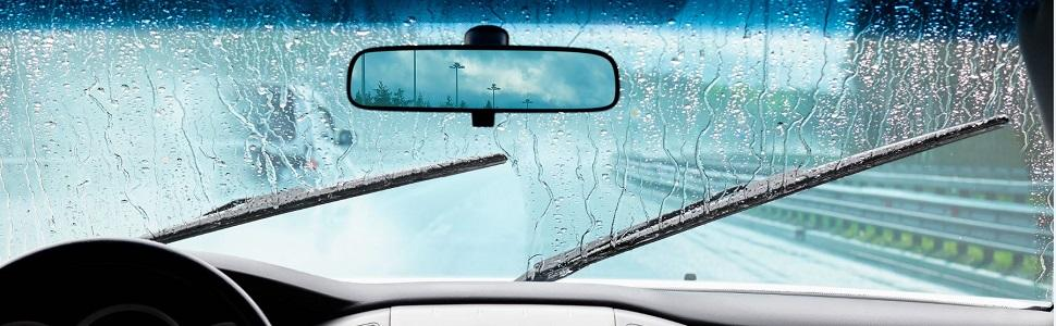 Traditional windshield wiper blade problems