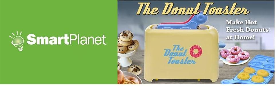 Amazon.com: Smart Planet mdm-1 Mini Donut Maker: Kitchen ...