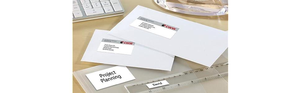 étiquettes multi-usages, étiquettes multifonctions, étiquettes, étiquettes adresses, étiquettes mult