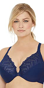1246 front close t-back wonderwire easy close fast closing easy bra