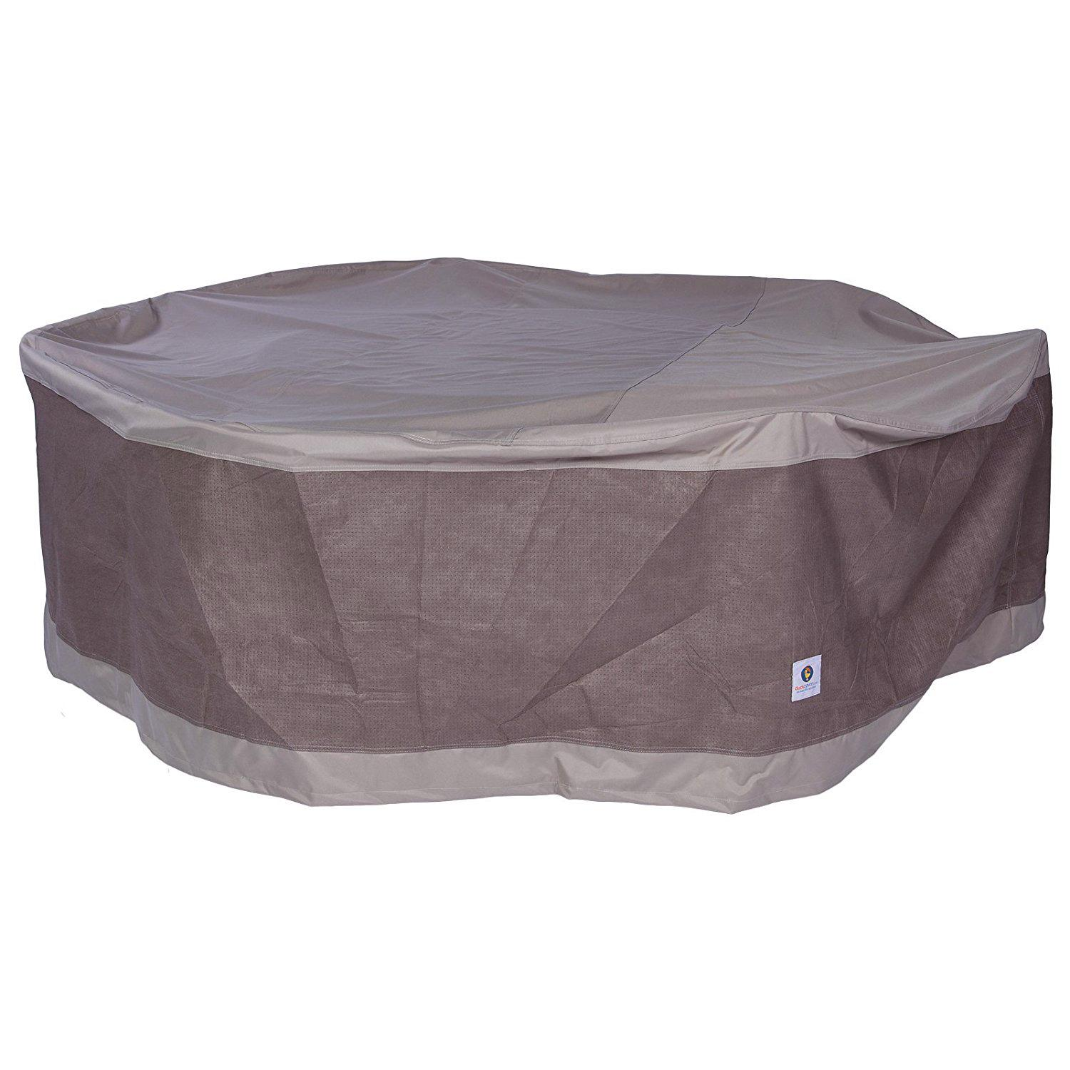 Amazon Duck Covers Elegant Round Fire Pit Cover 36 Inch