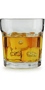 Double Old Fashioned Whiskey Glass