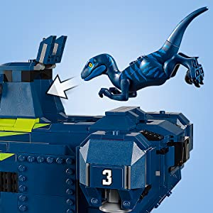 The LEGO® Movie Dark Blue Baby Raptor Velociraptor Dinosaur 70839 70820 Genuine