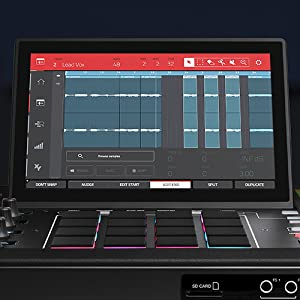 Fully Standalone MPC With 10.1-Inch Multi-Touch Display