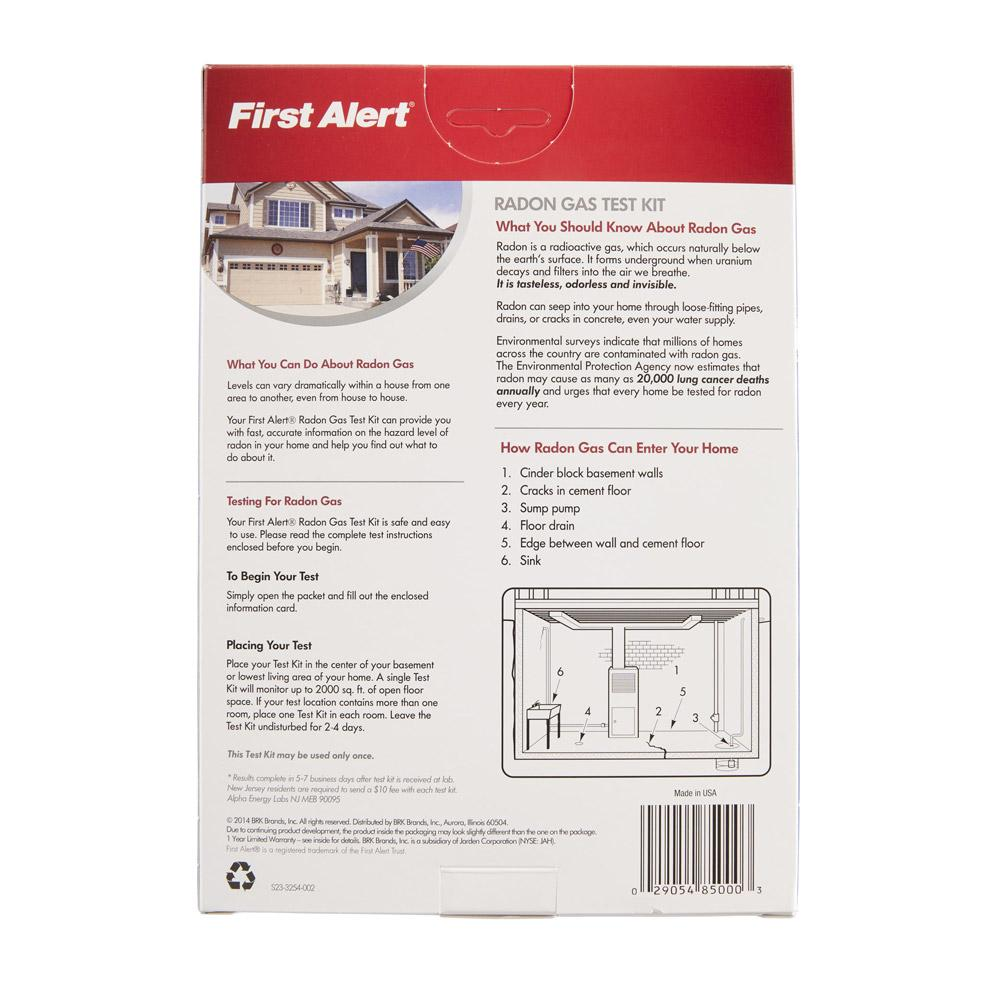 First alert rd1 radon gas test kit - The office radon test kit ...