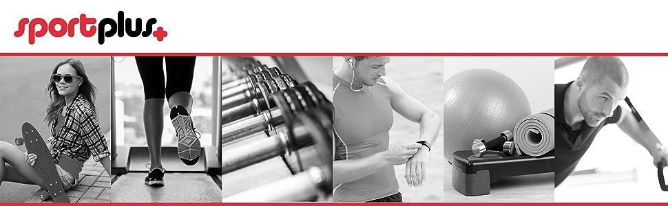 SportPlus Schlingentrainer - Material para Entrenamiento en suspensión