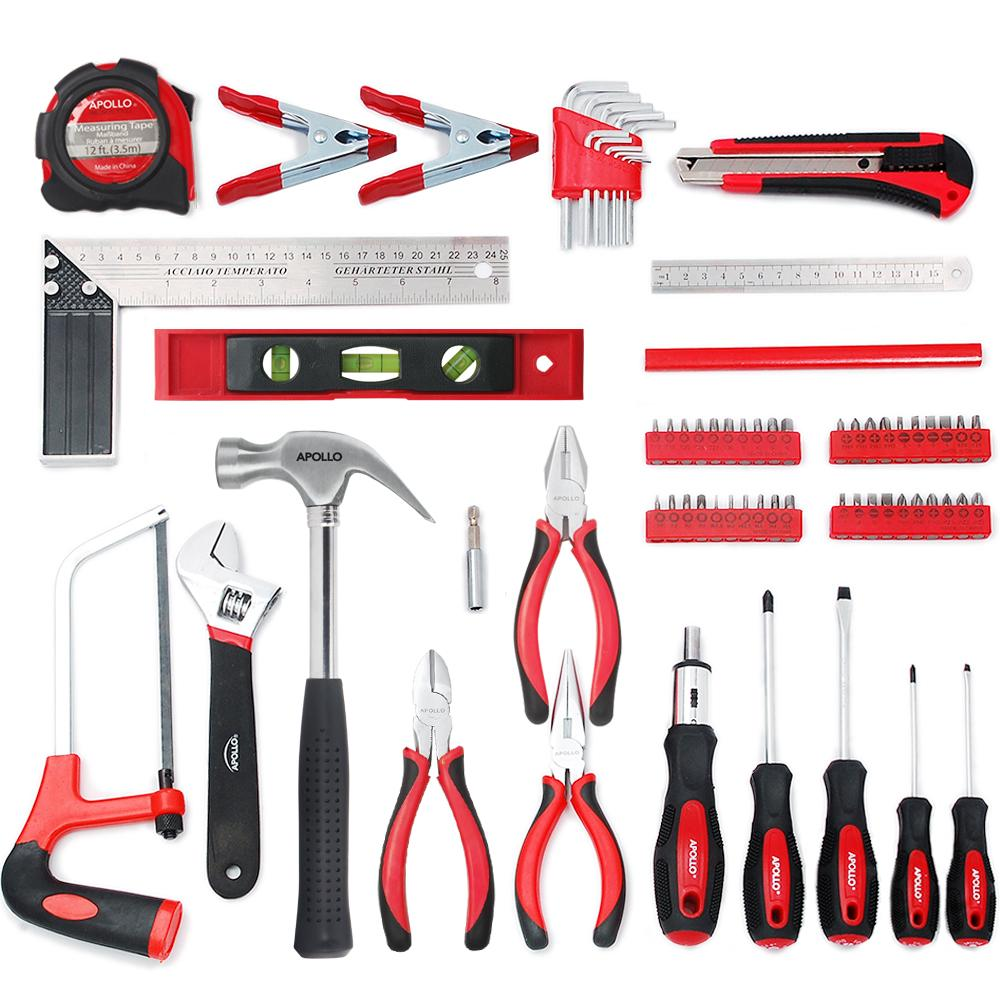 Amazon.com: Apollo Tools DT0204 Household Tool Kit, 71 ...