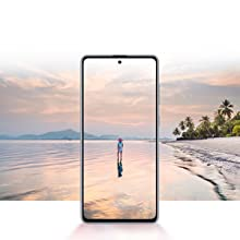 Samsung Galaxy Note10 Lite Infinity-O Display Super AMOLED screen