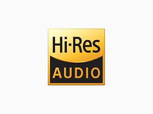 Hi-Res Audio compatible
