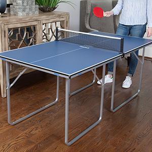 Amazon Com Joola Midsize Compact Table Tennis Table
