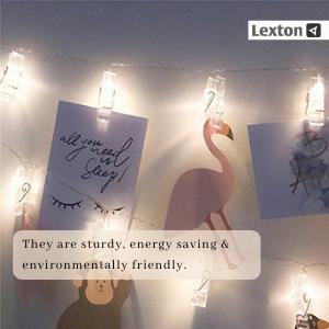 Lexton Lights, Curtail Lights, Clip Lights