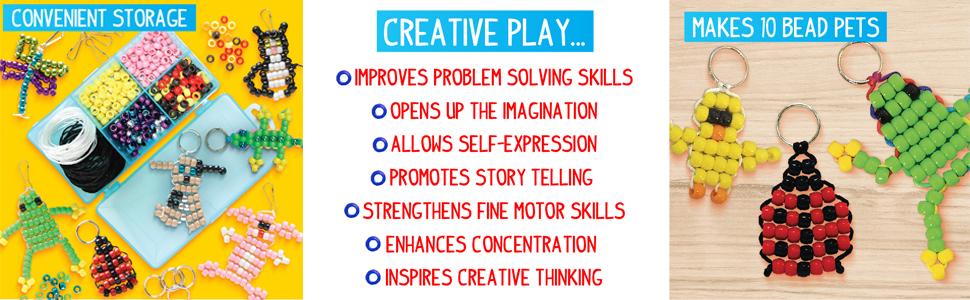 bead, pets, create, design, custom, activity, activity, keychain, easy, fun, creativity, storage