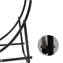 Amazon.com: Aro tubular de acero Panacea, para leña ...
