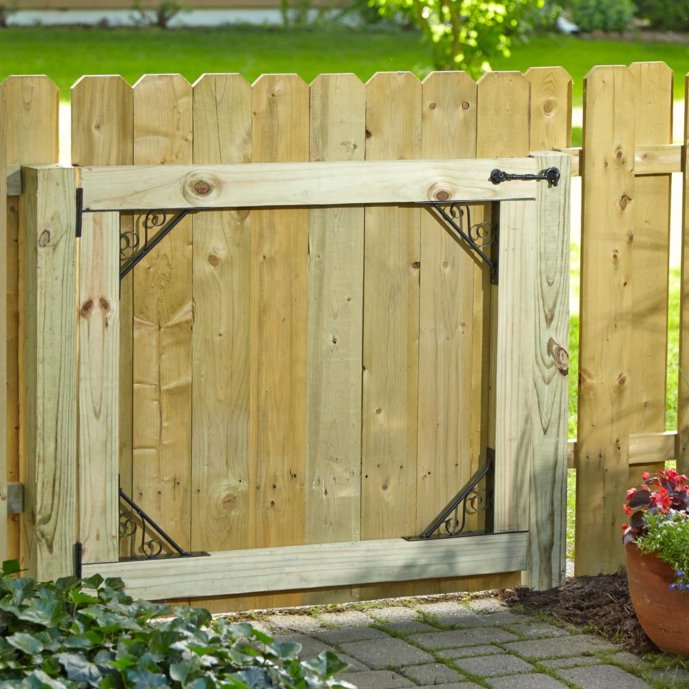 Garden Gate Kit, Install Gate, Gate Kit, Easy Gate, Hinges, Gate