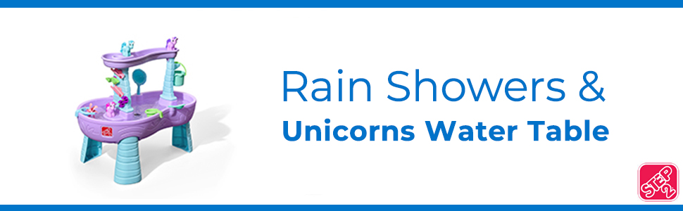 Rain Showers & Unicorns Water Table