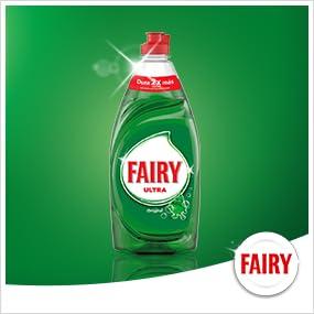 Fairy Ultra - Líquido lavavajillas verde oscuro sin remojo ni ...