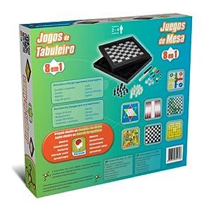 Science4you-Juegos de Mesa 8 en 1 (394728): Amazon.es: Juguetes y juegos