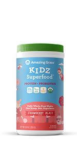 Kidz Superfood Protein + Probiotics