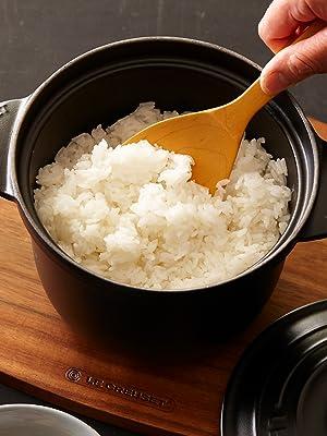 ル・クルーゼ 炊飯 お米
