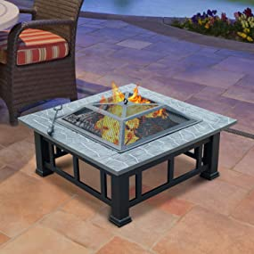 Patio Firepit Heater